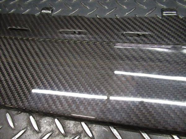☆アウトレット品 Z.S.S. AUDI アウディ R8 ドライカーボン フロント アンダースポイラー 綾織り エアロ OUTLET_画像4