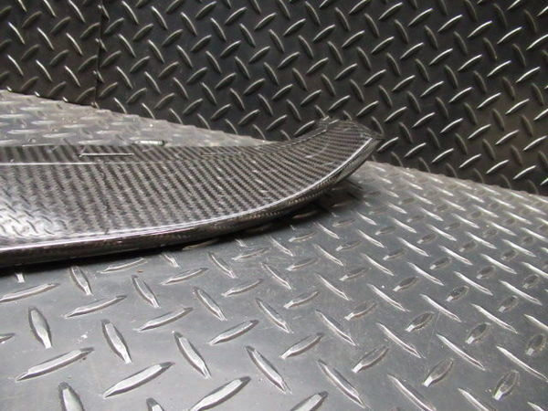 ☆アウトレット品 Z.S.S. AUDI アウディ R8 ドライカーボン フロント アンダースポイラー 綾織り エアロ OUTLET_画像3