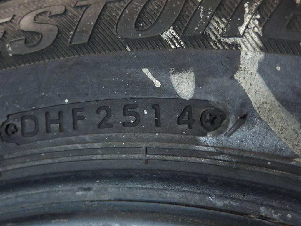 [2086]ブリヂストン アイスパートナー 155/65R13 中古 4本★送料込_画像7