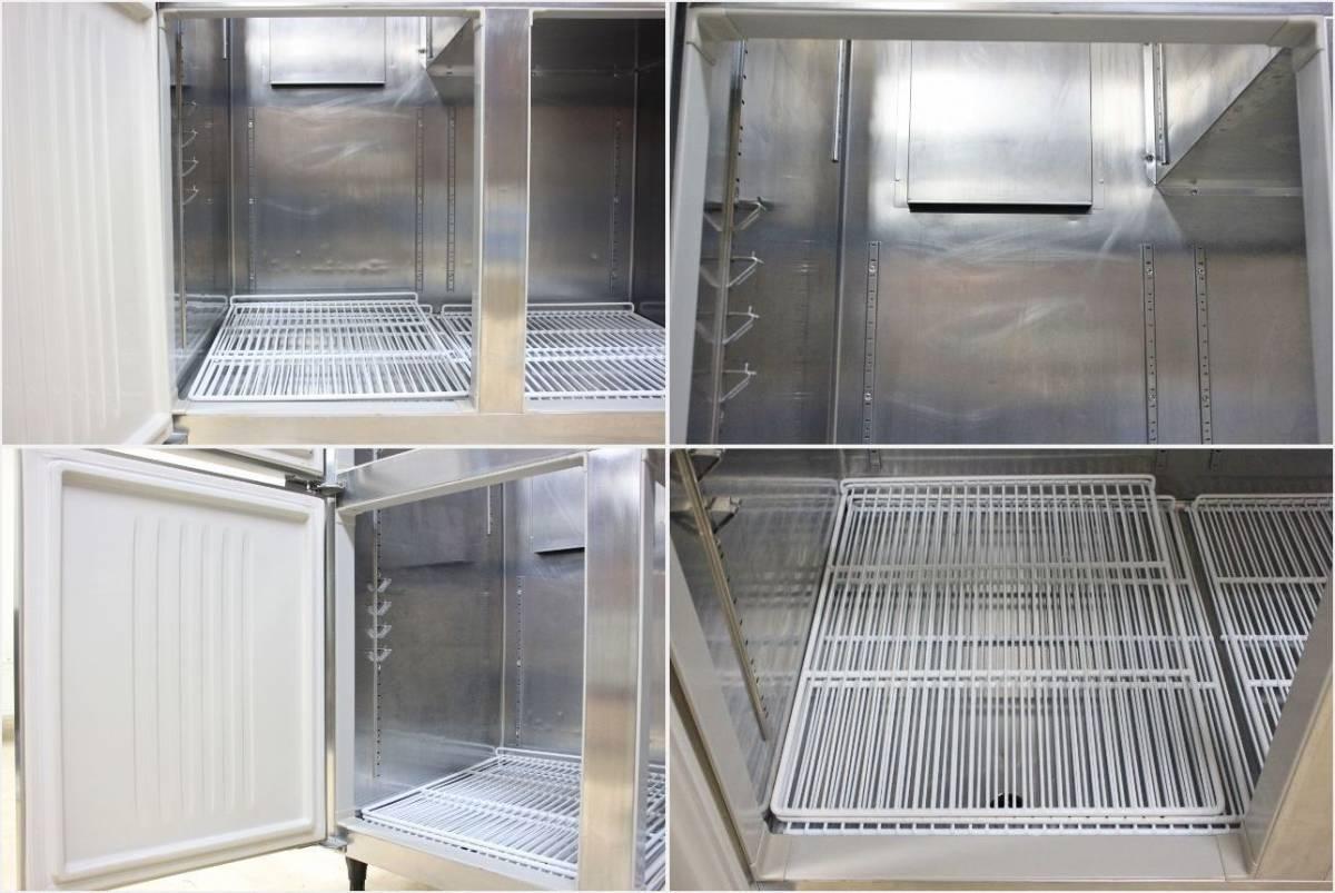 ■ホシザキ 業務用 冷凍冷蔵庫 4ドア 1凍3蔵 HRF-120Z ☆2016年☆ 中古■_画像8