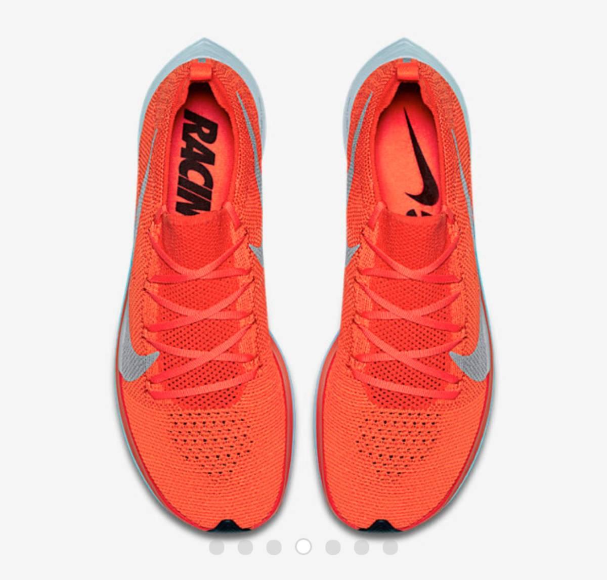 8858df5484 26cm Nike veipa- fly 4% fly knitted NIKE VAPORFLY 4% FLYKNIT orange ...