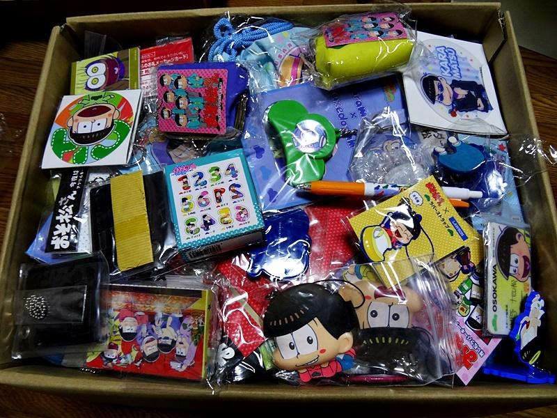 【免費送貨】Osomatsu先生唯一的動漫物品處理100個大尺寸盒子裝在一起大量設置[破產] [轉售] [為freema] 23 編號:t608203652