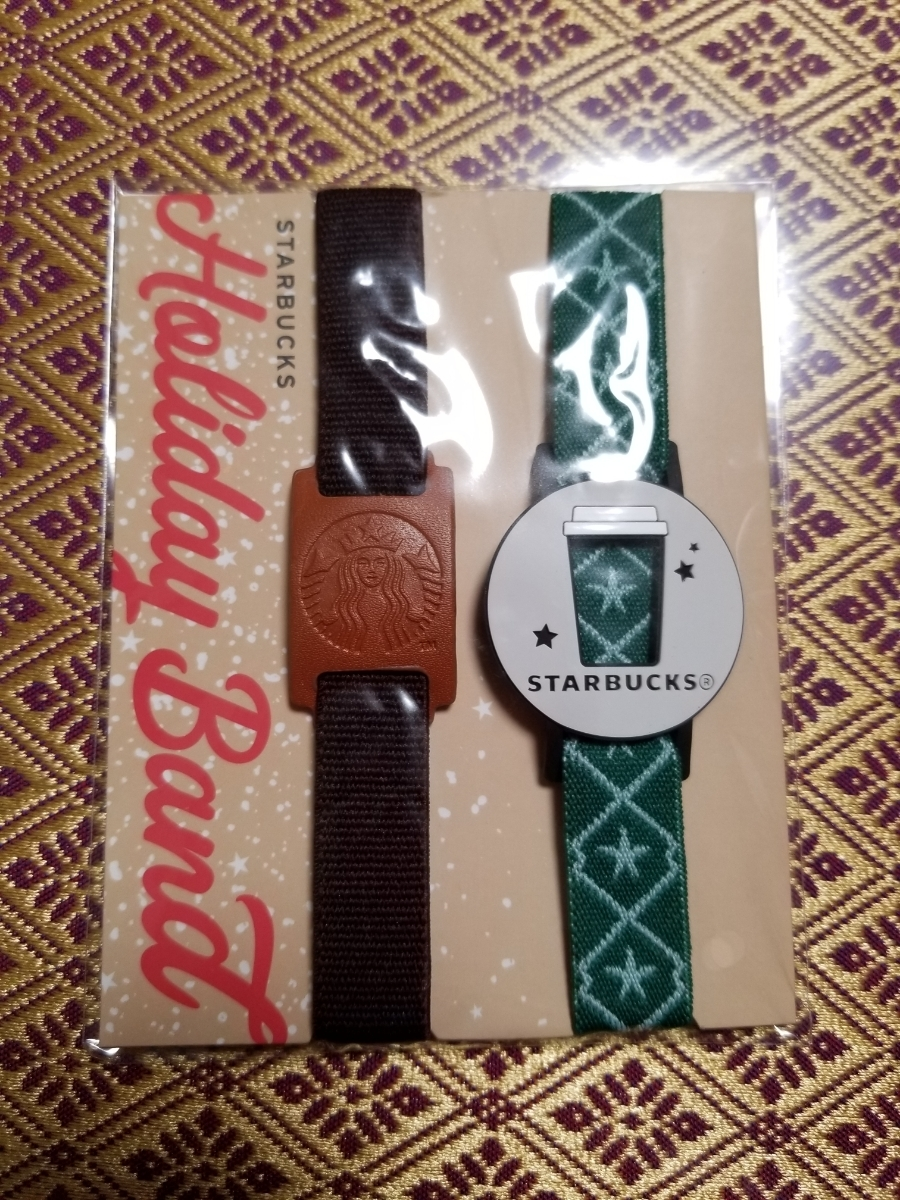 free shipping ] Starbucks * Hori te- band *2018 * Christmas
