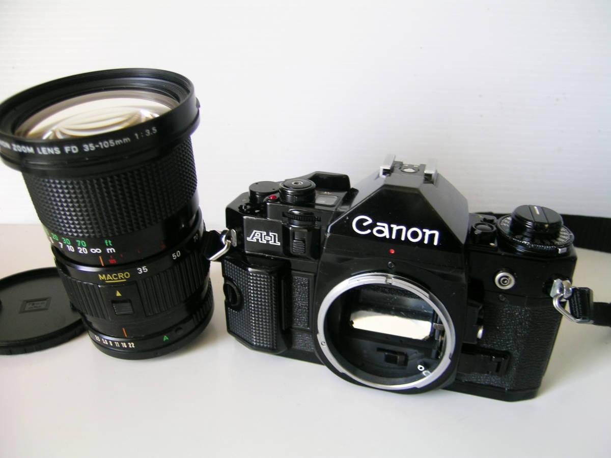 キヤノン CANON A-1(シャッター鳴き無し) MACROズームレンズ付き_画像6