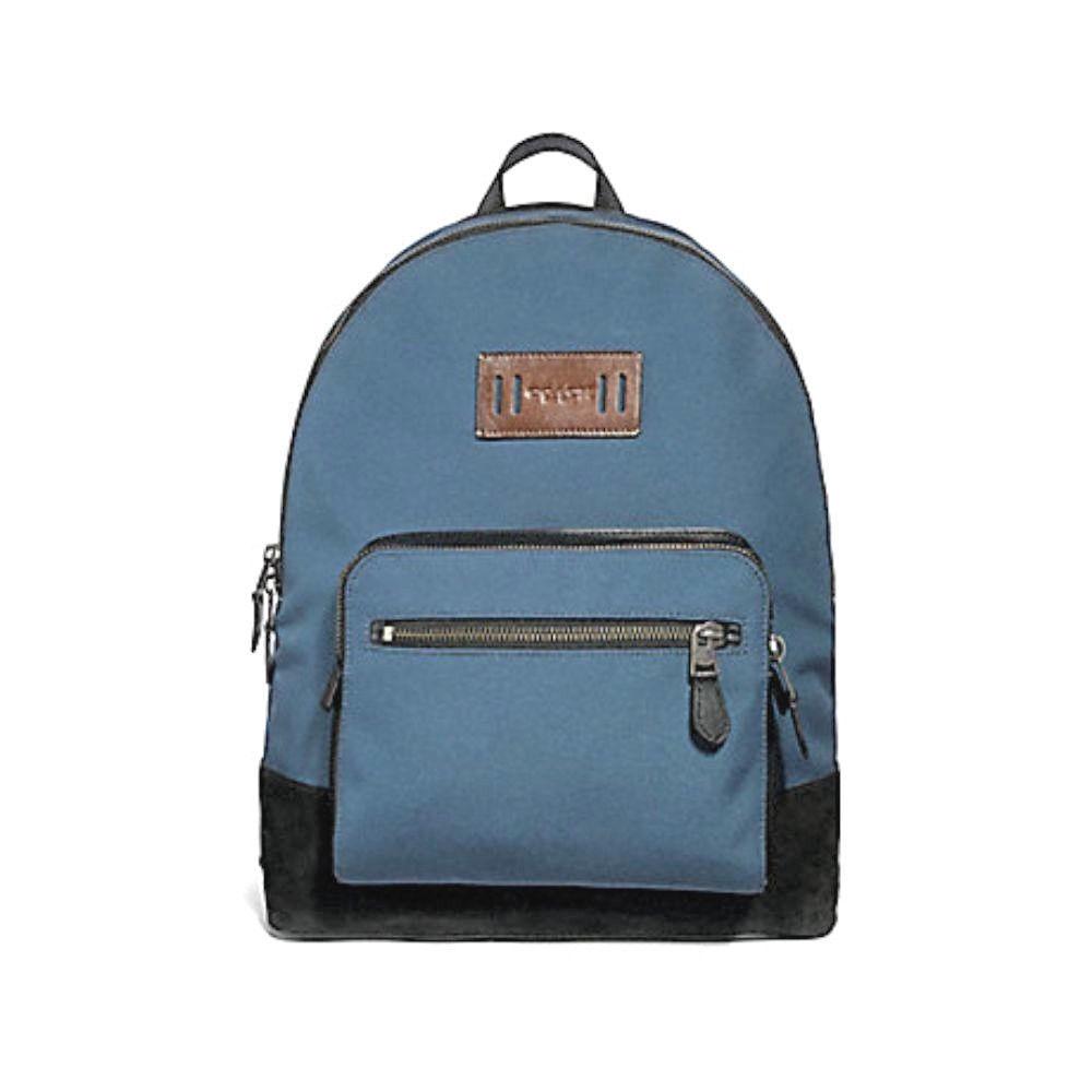 dece240f5979 代購代標第一品牌- 樂淘letao - Coach コーチWEST CORDURA Back Pak F27609  デニムブルー【米国から直送、4~7日でお届けします。荷物追跡付】