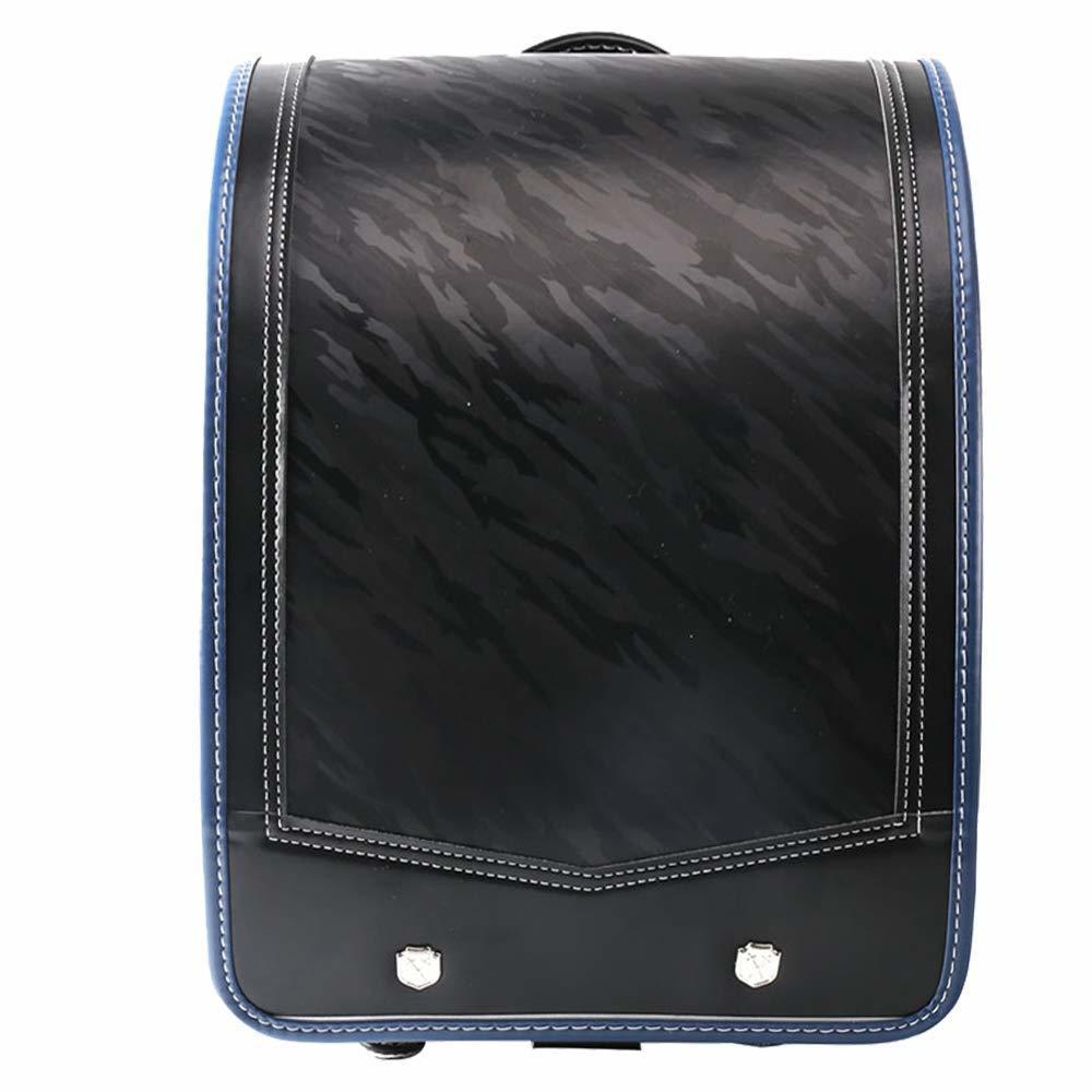 新品 ランドセル 高級感 A4フラットファイル対応 ワンタッチロック 黒 ネイビー 迷彩柄 ブラック ブルー_画像1
