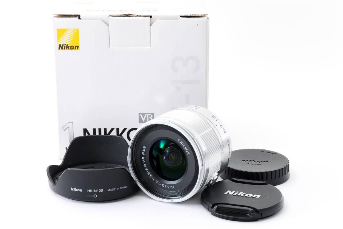 ★良品★ Nikon ニコン 1 NIKKOR VR 6.7-13mm F3.5-5.6 元箱 #1918