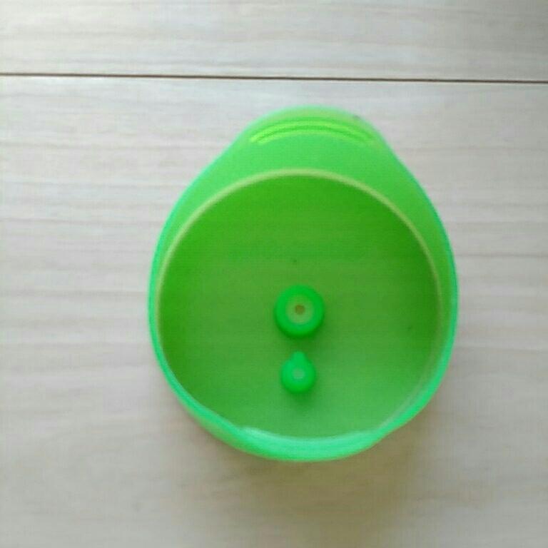 ドリンクホルダー コンビ ディズニー スティッチ 箱 アンパンマン 乳幼児 ベビー 紙パック 補助用品 2点 BitattoMug 黄緑色_画像5