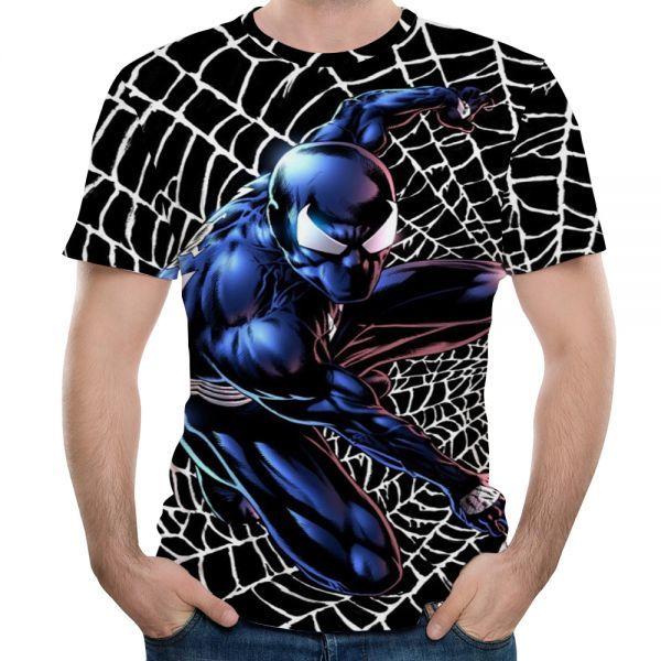 男性フィットネス速乾性圧縮シャツ3d tシャツレジャーマーベルスーパーヒーロー漫画スパイダーマン短いsleevetシャツ送料無料