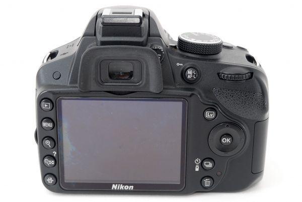 [完好無損項目]尼康尼康D3200鏡頭設置SD卡※6個月安心的保證ME超過05SP18-25 編號:v587208428