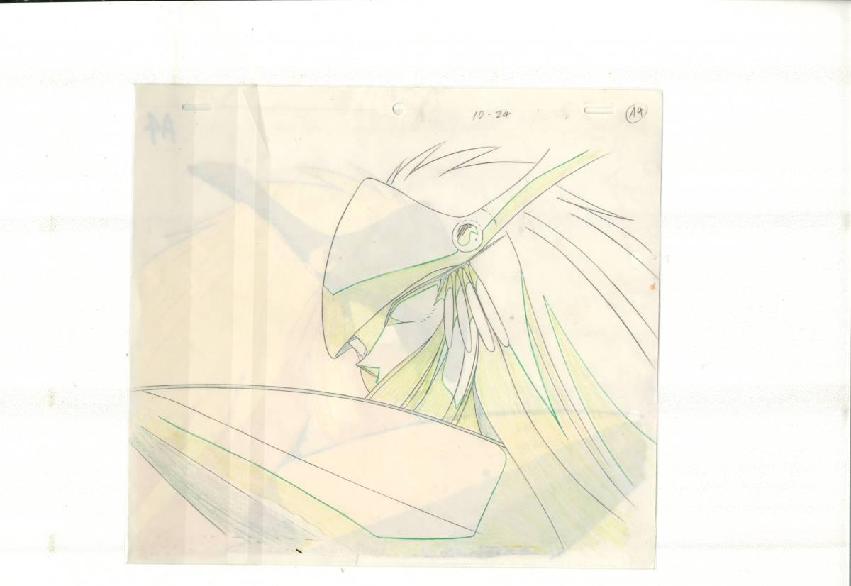 GS美神 ゴーストスイーパー美神 セル画 3 <検索ワード> 原画 イラスト レイアウト 設定資料_画像2