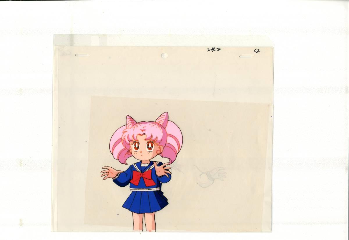 美少女戦士セーラームーン セル画 4枚セット <検索ワード> 原画 イラスト レイアウト 設定資料_画像2