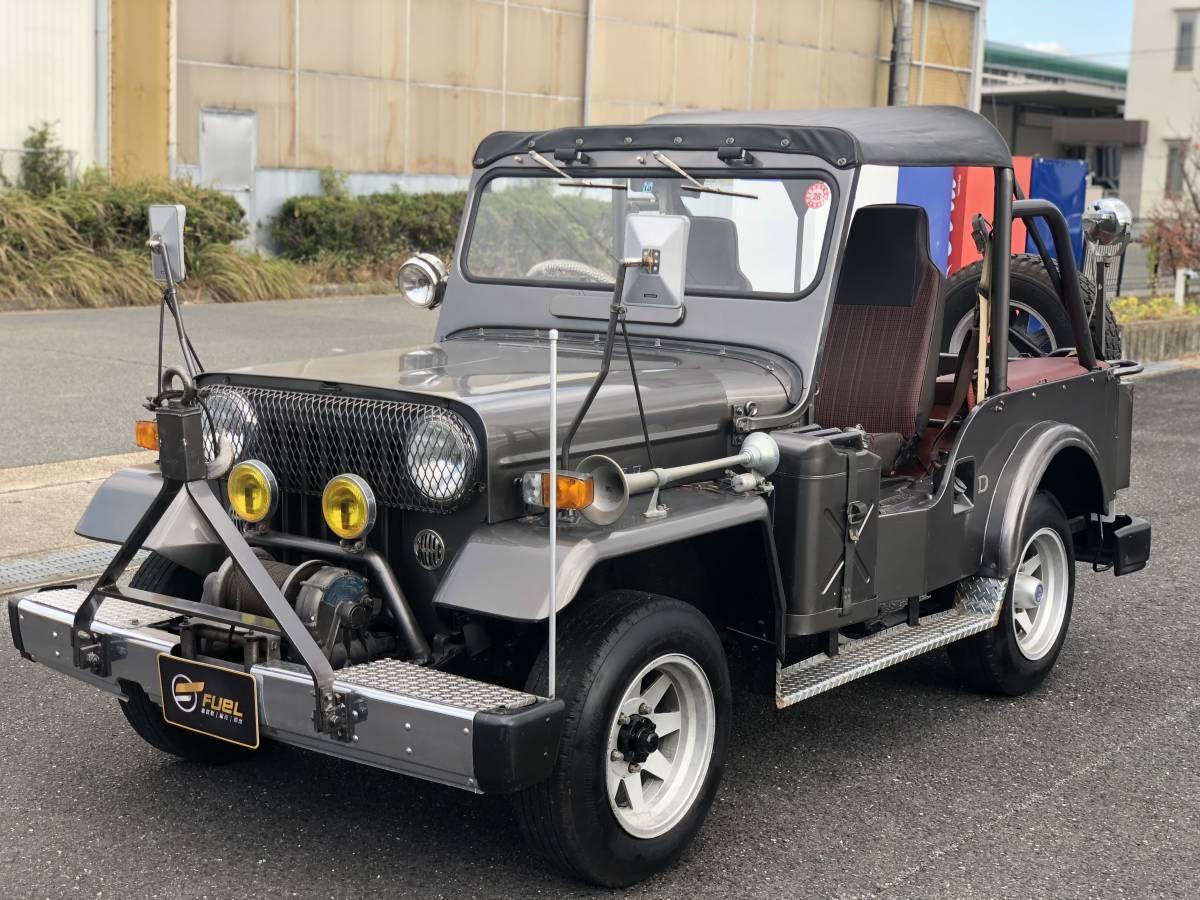 Mitsubishi Jeep * mileage 1 ten thousand kilo *PTO winch * diesel