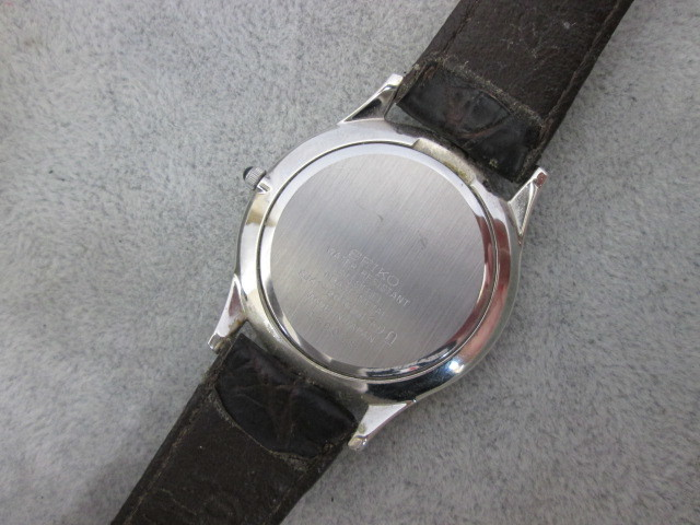 精工SEIKO Dolce 8J41-8010男士手錶石英113708 800 編號:q249681462