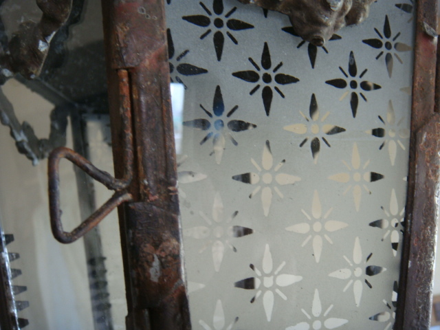 ヤフオク! - フランスアンティーク 1900年代 ランタン照明 6...