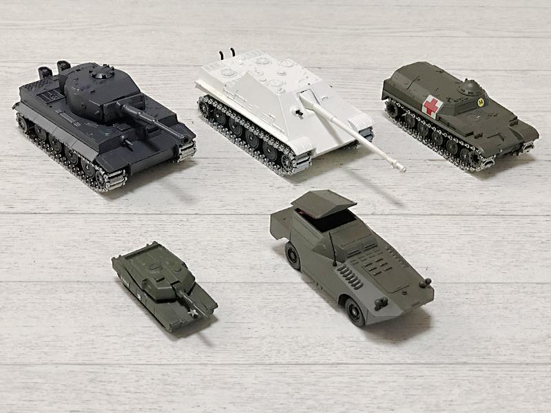 solido等 ダイキャスト 戦車(金属キャタピラ)色々5台セット♪ _画像2