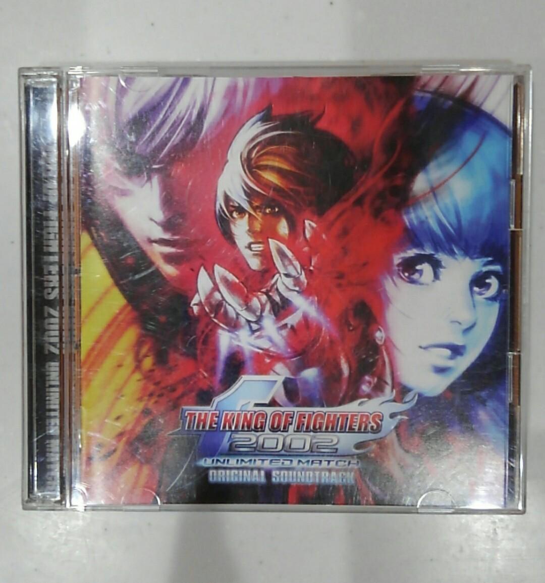 【KOF 2002 UNLIMITED MATCH オリジナルサウンドトラック SNK 動作確認済み】