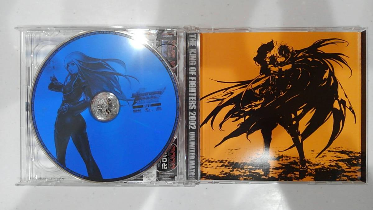 【KOF 2002 UNLIMITED MATCH オリジナルサウンドトラック SNK 動作確認済み】_画像3