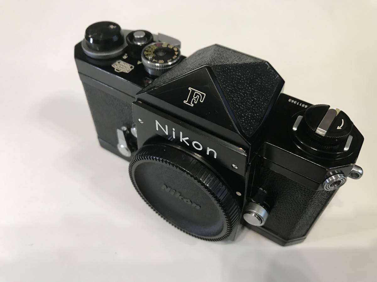 Nikon ニコン F ブラック 黒 651前期型 1円スタートです!!_画像2