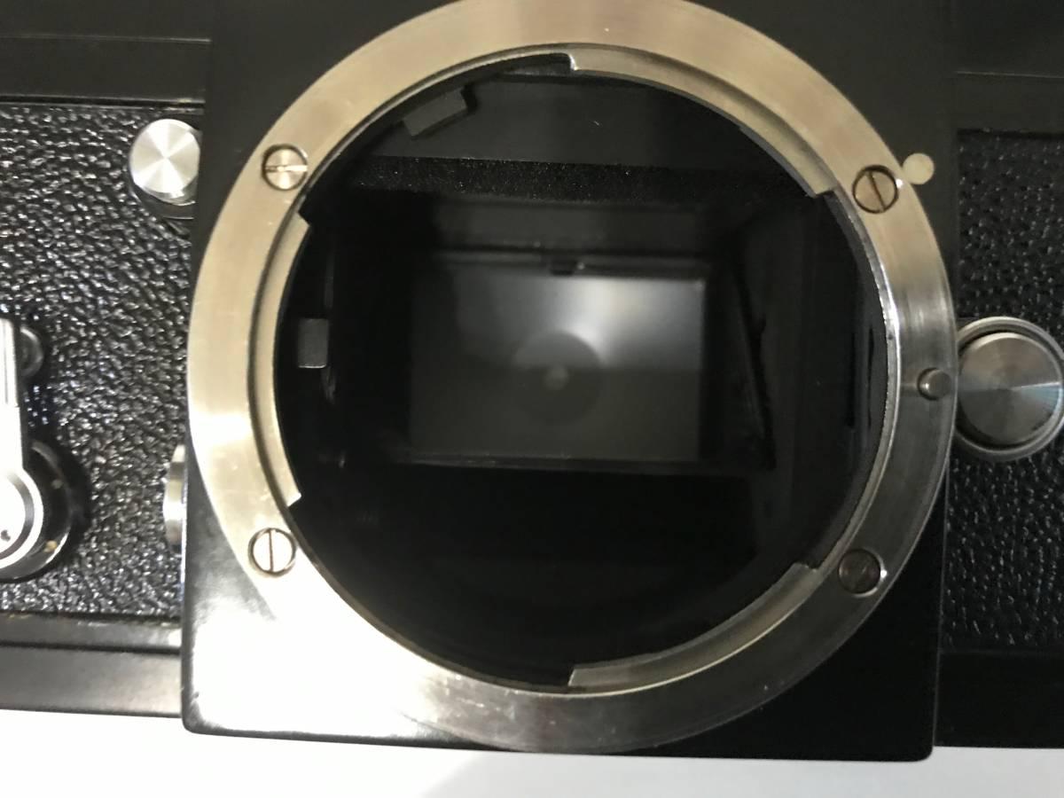 Nikon ニコン F ブラック 黒 651前期型 1円スタートです!!_画像4