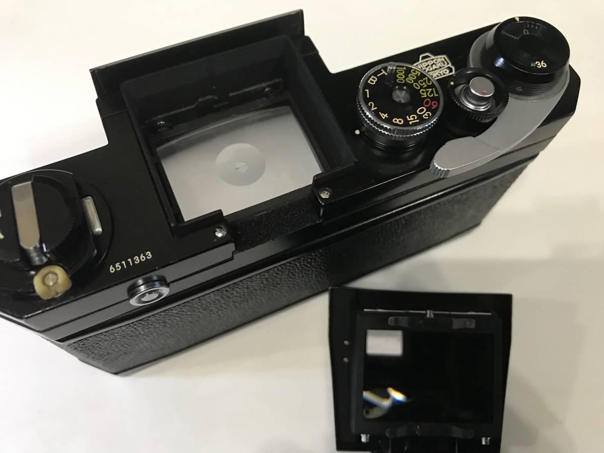 Nikon ニコン F ブラック 黒 651前期型 1円スタートです!!_画像6