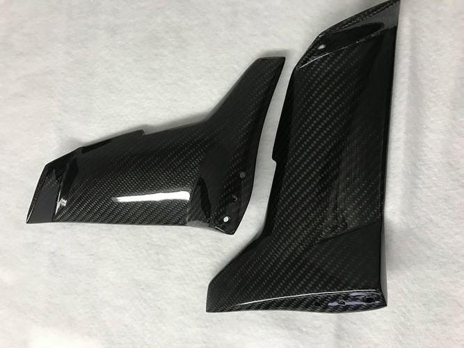 Ninja H2 Rタイプ カーボン ウイングレット トップ 2017 Ver