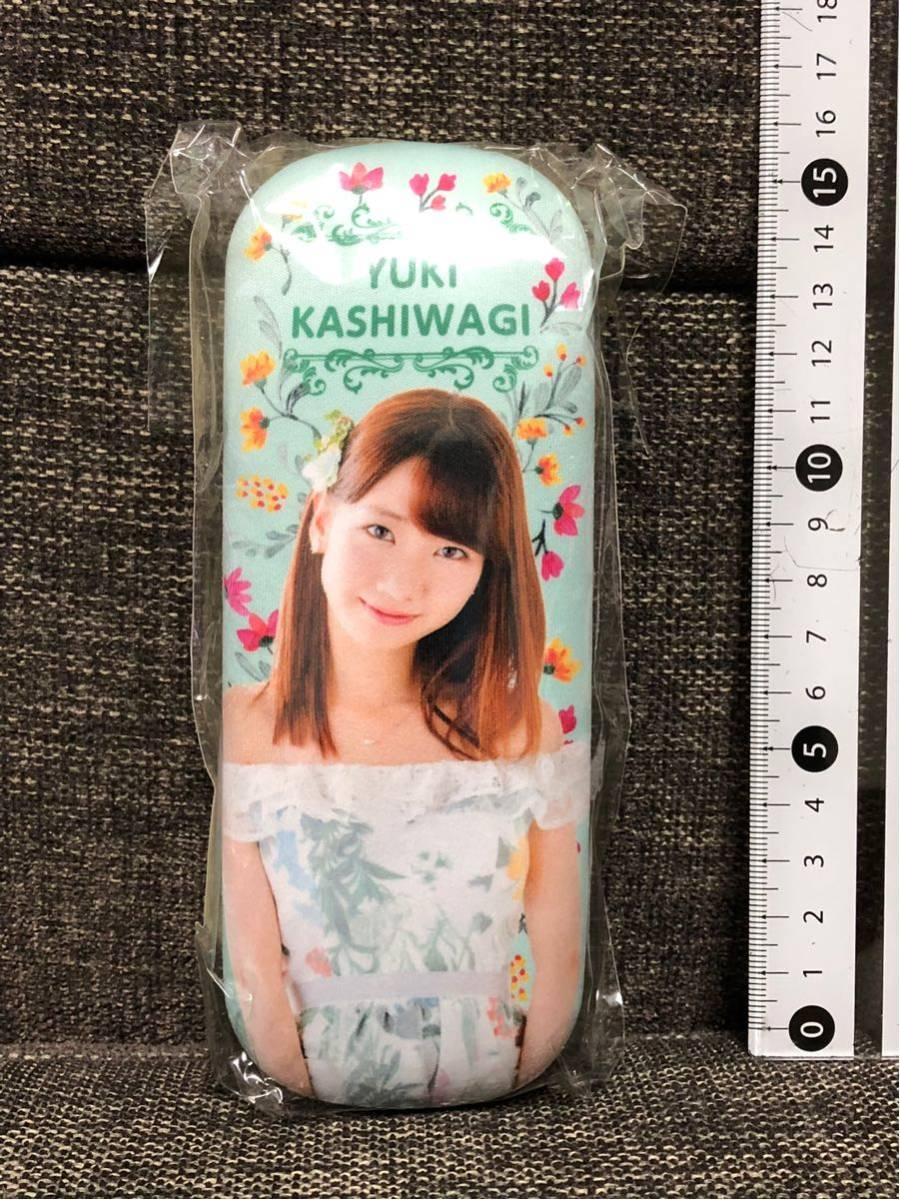 AKB48 柏木由紀 めがねケース & クロスセット c