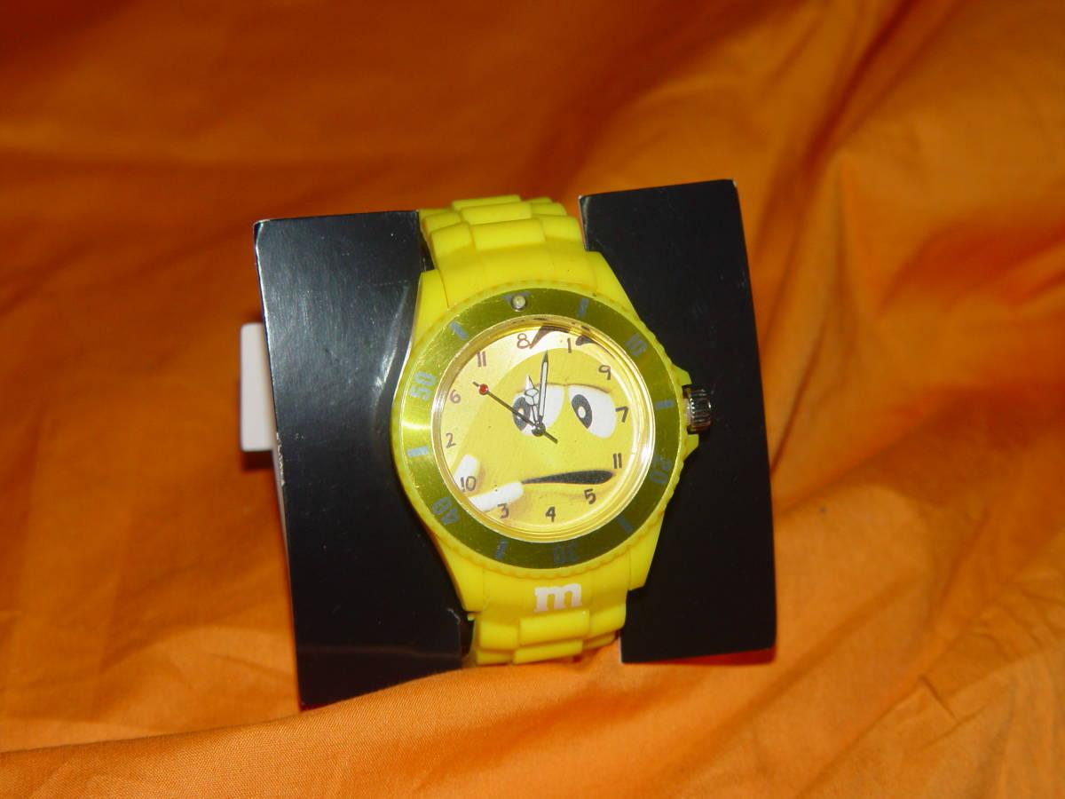 ★送料無料★非売品/未使用★ m&m 腕時計 ★_画像8