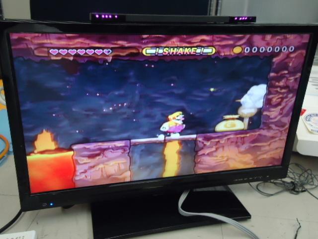 Nintendo Wii 任天堂 RVL-001 ホワイト 動作確認済み ワリオランドシェイク 太鼓の達人 ジャストダンス 他 ソフト6点 O_画像3
