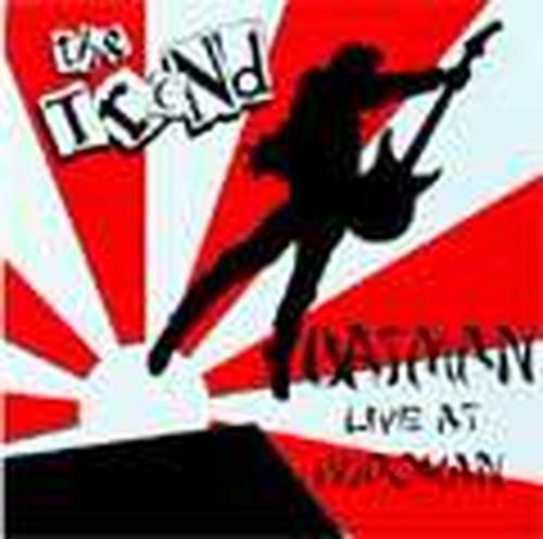 *中古CD THE TREND/BATMAN LIVE AT BUDOKAN 1982年1st+ボーナス・トラック収録 国内盤紙ジャケット仕様 U.S/NY PUNK ROCK_画像1