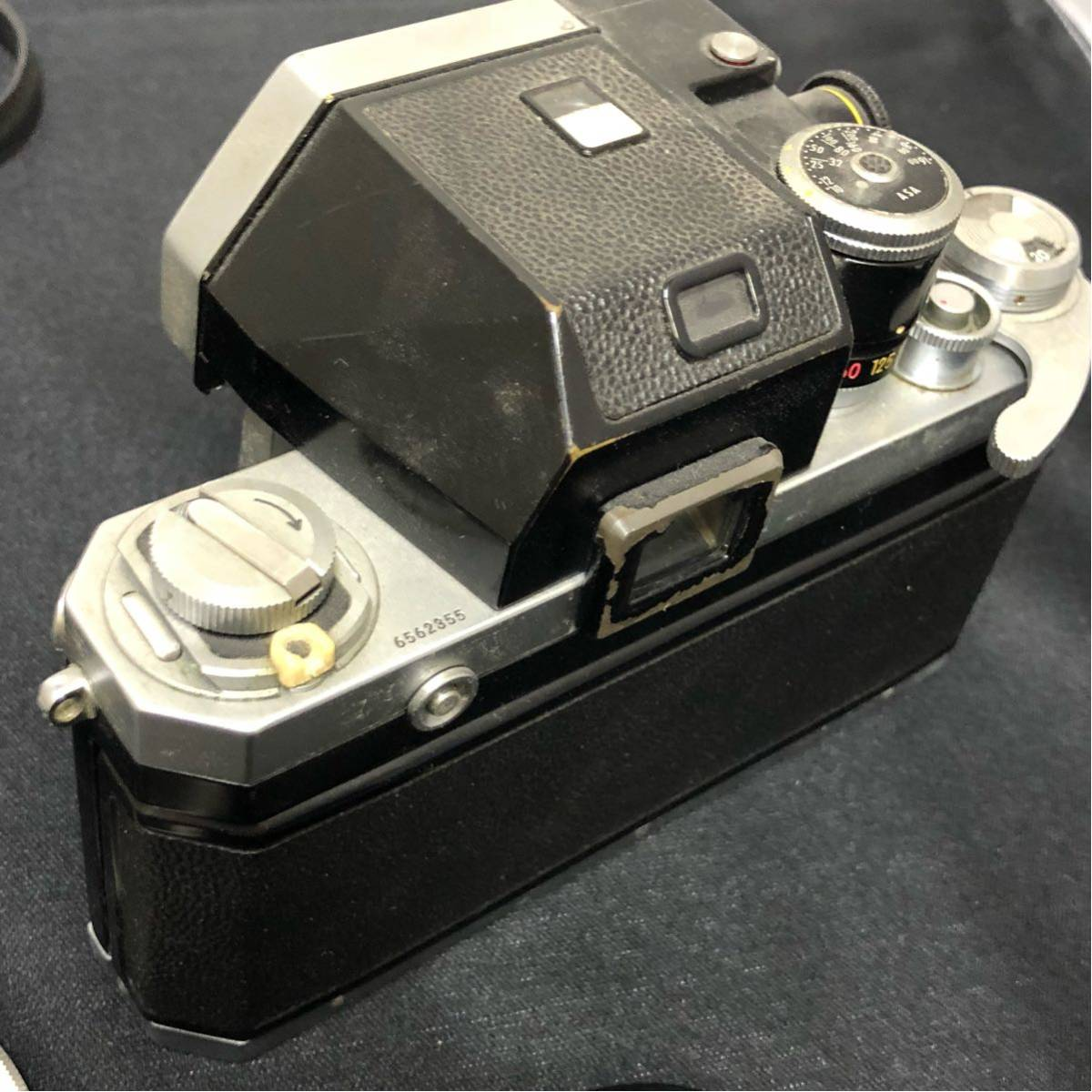 ♯ NIKON ニコン 一眼レフ カメラ F nikkor-ud 1:3.5 20mm nikkor 50mm 1:1.2 レンズ2本セット_画像6