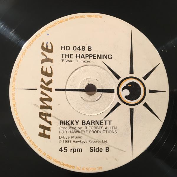 ★Rikky Barnett/You Make It Happen★美メロLOVERS ROCK!_画像2