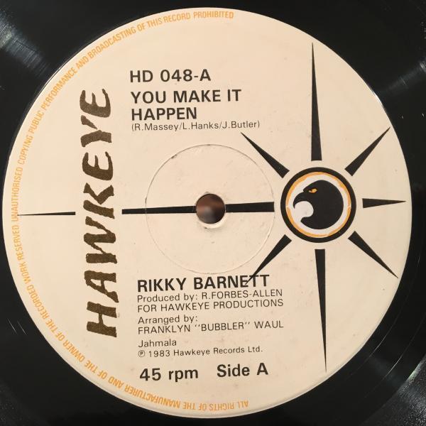 ★Rikky Barnett/You Make It Happen★美メロLOVERS ROCK!_画像1
