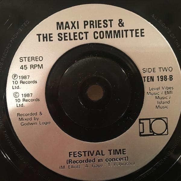 ★Maxi Priest/Some Guys Have All The Luck★メロウ名曲カバー!7inch 45_画像3