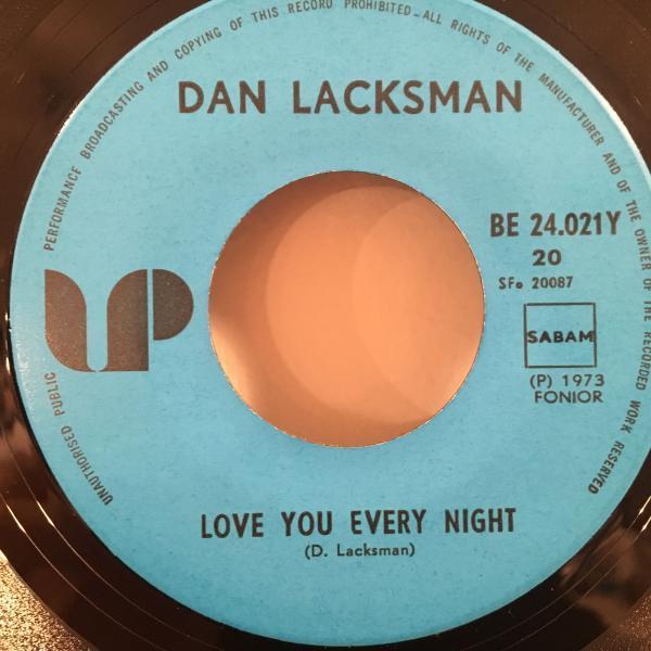 ☆Dan Lacksman/Love You Every Night☆レア・ベルギー産PSYCH SOUL!7inch 45_画像3