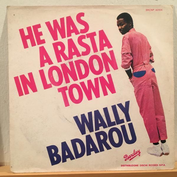 ☆Wally Badarou/He Was A Rasta In London Town☆AFRO COSMIC DISCO!7inch 45