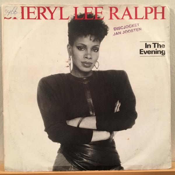 ☆Sheryl Lee Ralph/In The Evening☆SYNTH BOOGIE!HUNEEプレイ!7inch 45