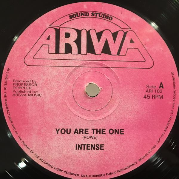 ★Intense/You Are The One★ARIWA産哀愁LOVERS名作!_画像1