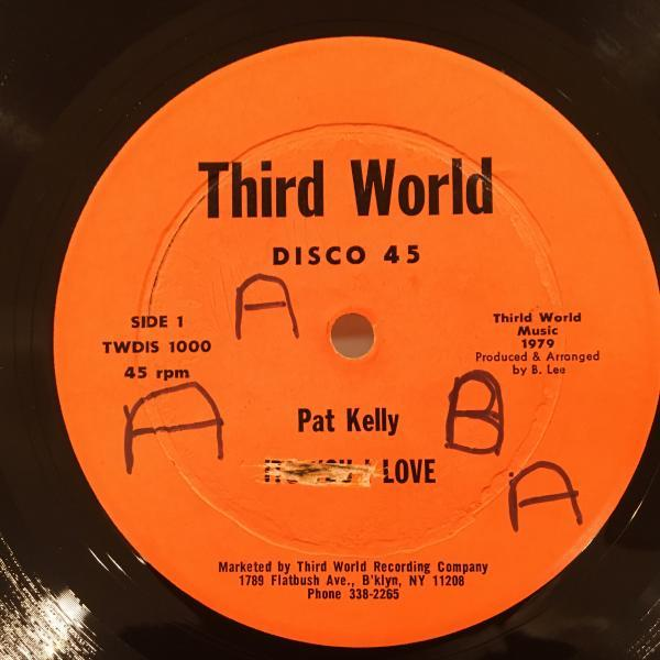 ★Pat Kelly/It's You Love★美メロLOVERS ROCK名作!_画像1
