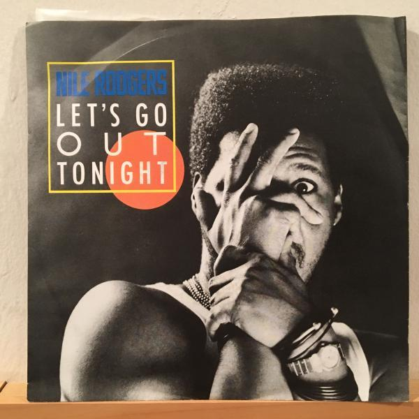 ☆Nile Rodgers/Let's Go Out Tonight☆日本語入りMELLOW BOOGIE!7inch 45_画像1