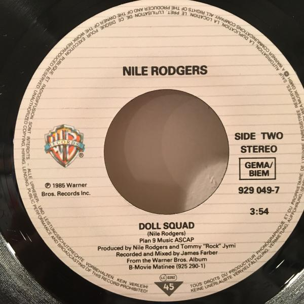 ☆Nile Rodgers/Let's Go Out Tonight☆日本語入りMELLOW BOOGIE!7inch 45_画像3