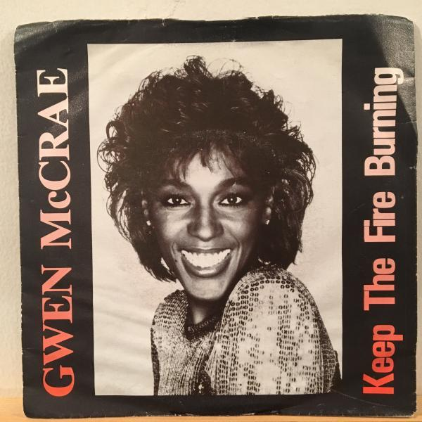 ☆Gwen McCrae/Keep The Fire Burning☆KILLER BOOGIE CLASSIC!7inch 45