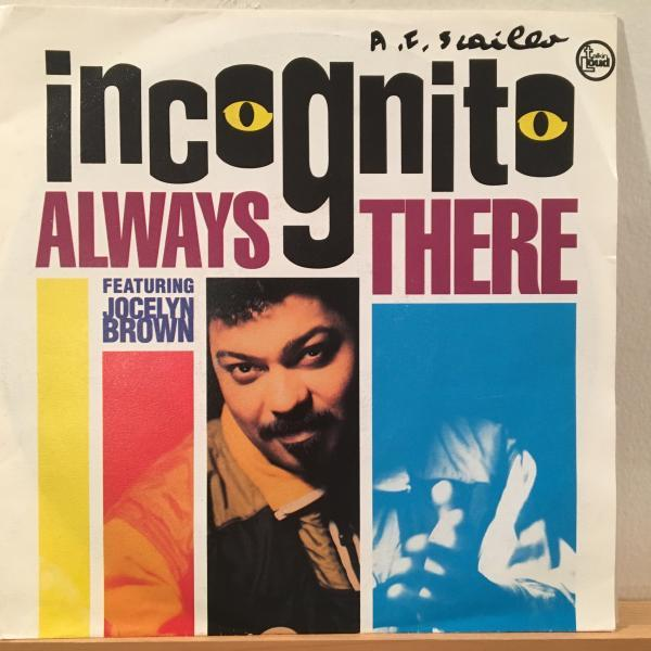 ☆Incognito Featuring Jocelyn Brown /Always There☆UK ACID JAZZ/R&B名作!7inch 45