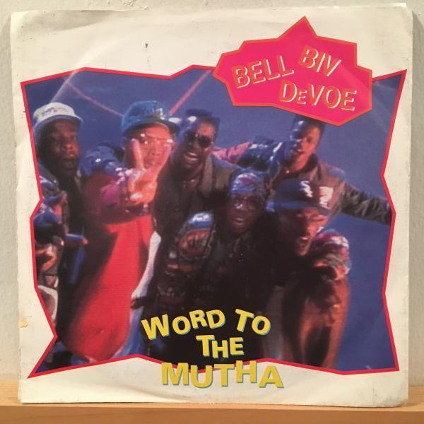 ☆Bell Biv DeVoe/Word To The Mutha☆R&B NEW JACK SWING名曲!7inch 45