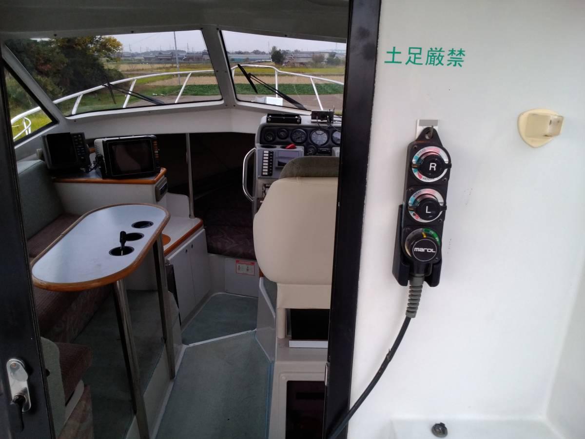 ヤンマー FM28・新艇から陸上保管_画像6