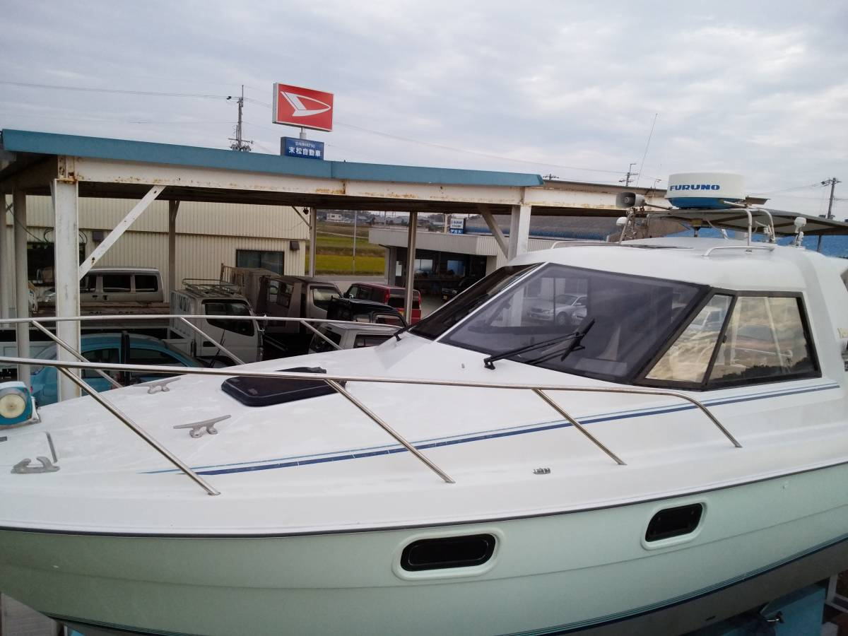 ヤンマー FM28・新艇から陸上保管