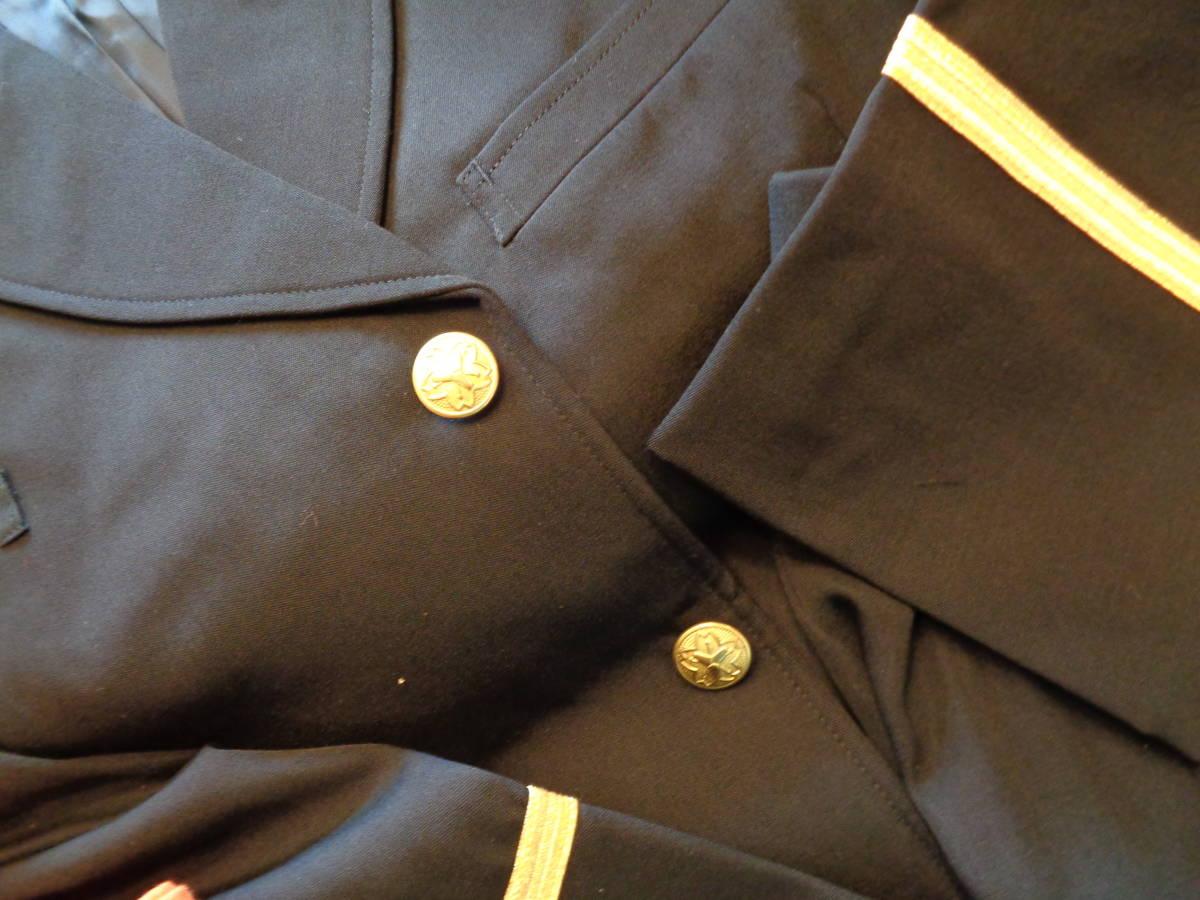新品★耐熱性上着、防炎ズボン 黒礼装上着、ズボン 帽子 2色★6点 消防団_画像2