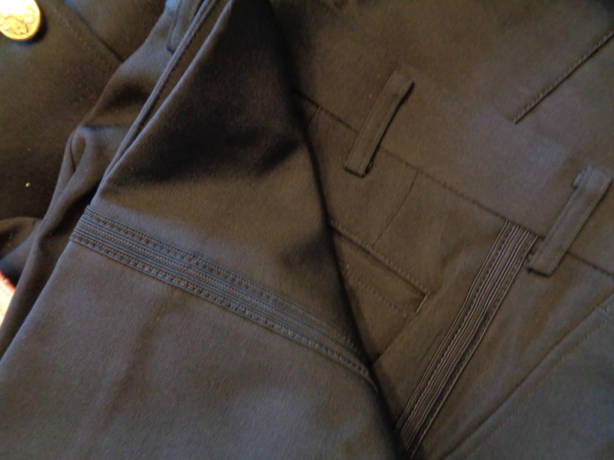 新品★耐熱性上着、防炎ズボン 黒礼装上着、ズボン 帽子 2色★6点 消防団_画像5