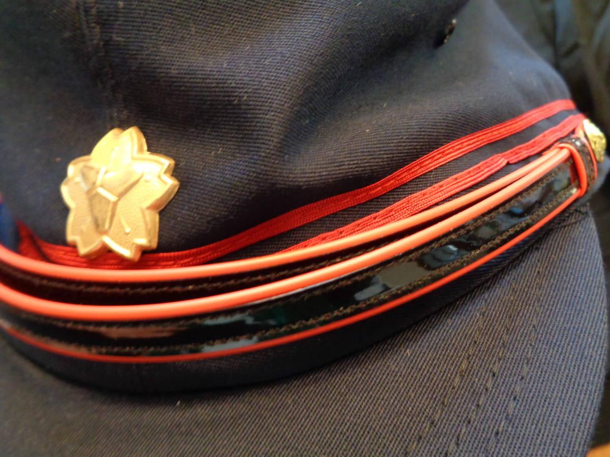 新品★耐熱性上着、防炎ズボン 黒礼装上着、ズボン 帽子 2色★6点 消防団_画像6