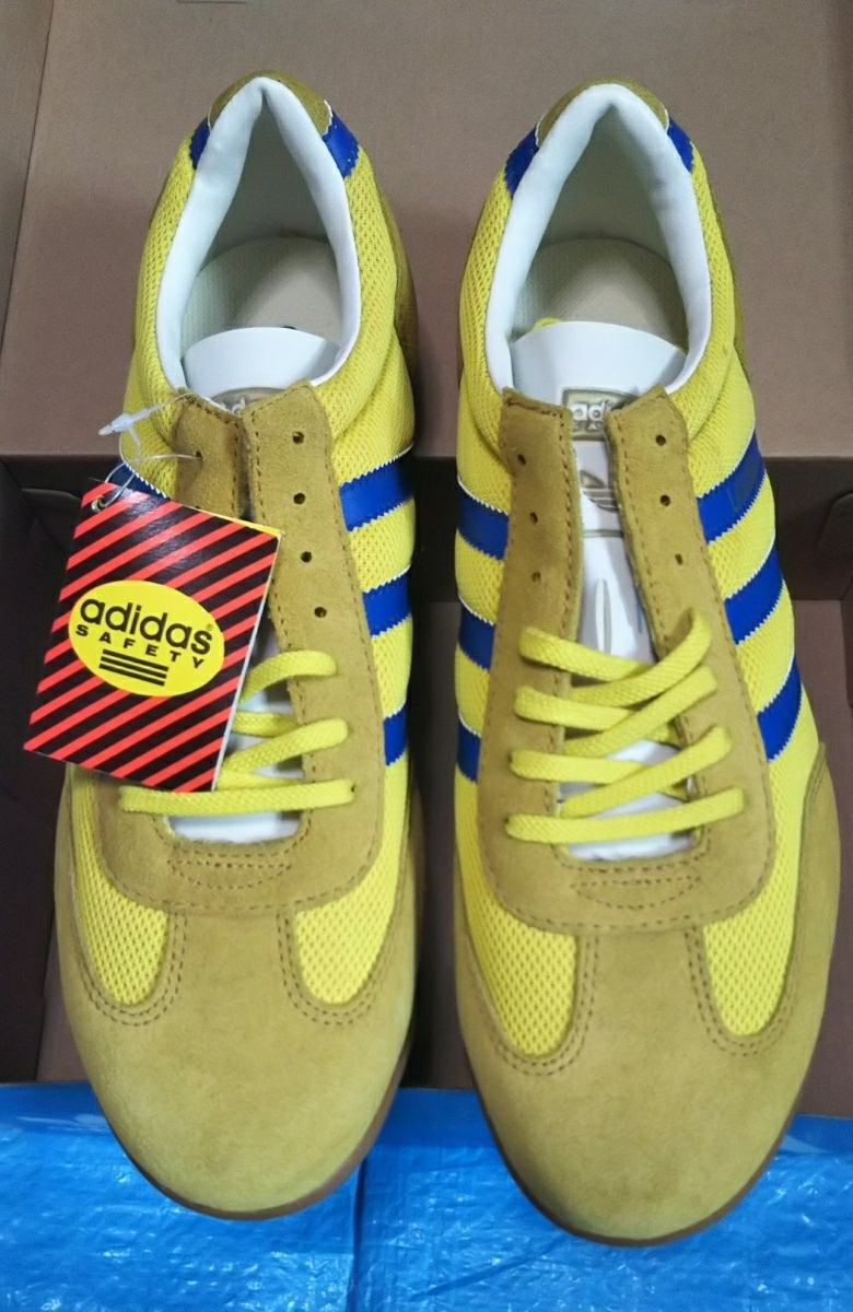 90s Adidas safety shoes la high na